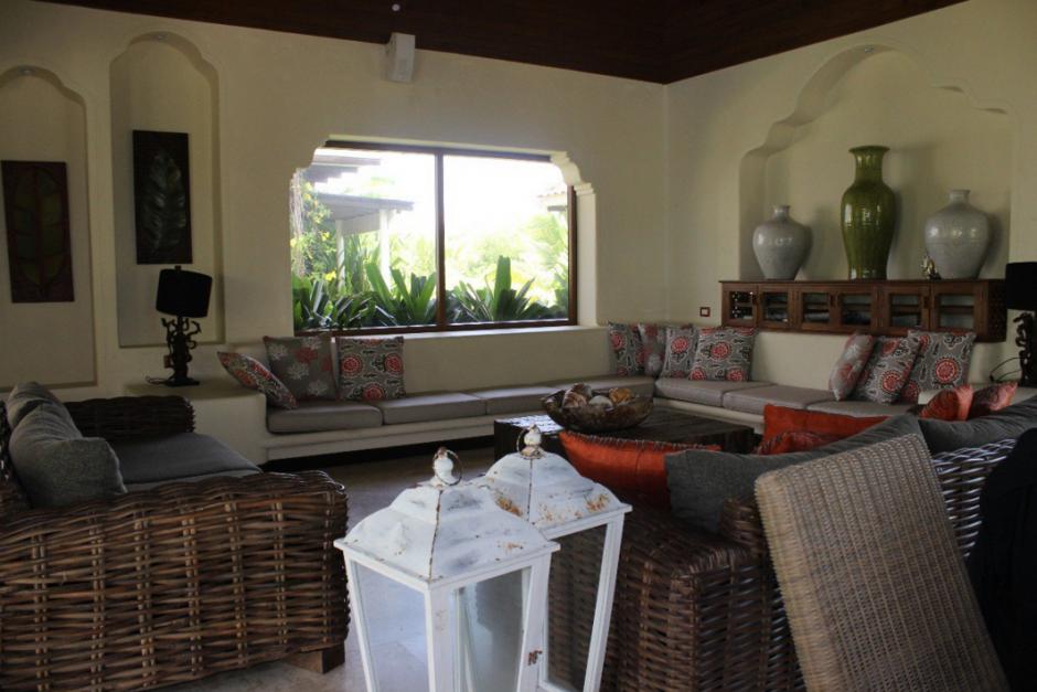 La casa se ubica en Taxisco, Santa Rosa. (Foto: MP)