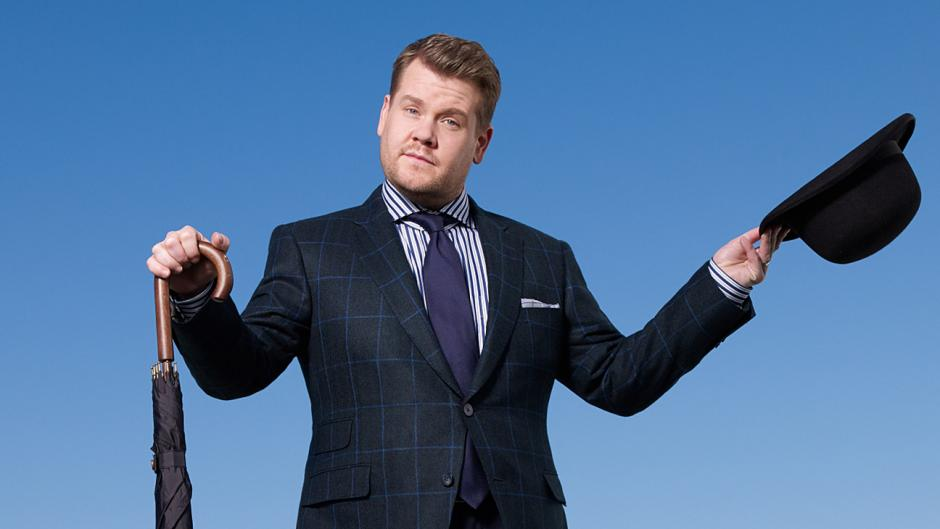 James Corden quiere ser invitado a este gran evento. (Foto: CBS/The Hollywood Reporter)