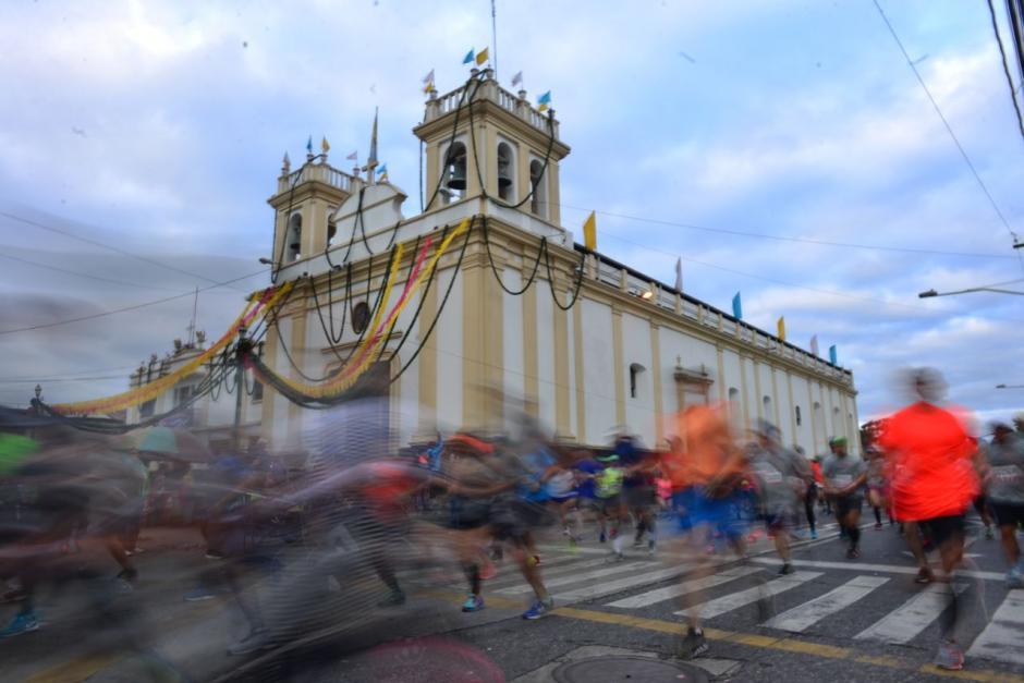 El recorrido fue de 21 kilómetros. (Foto: Jesús Alfonso/So502)