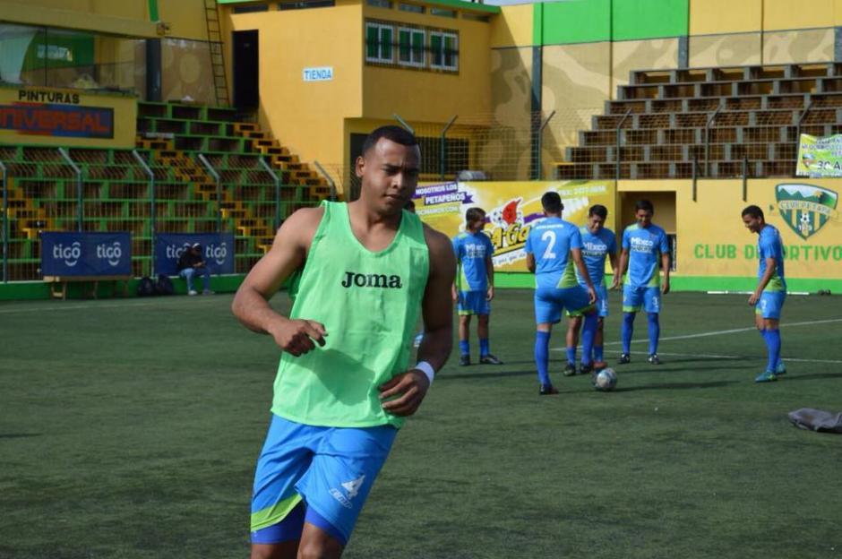 César Gabriel José Tinoco Álvarez estuvo casi un mes en Cartagena. (Foto: Deportivo Mixco)