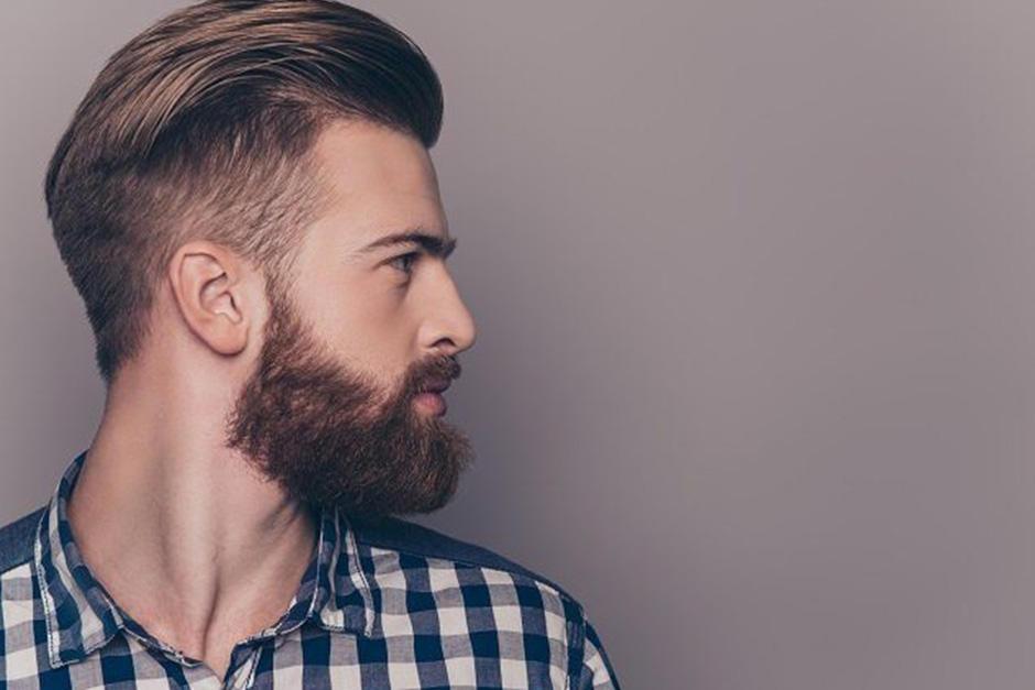 Corte de pelo hongo desvanecido para hombre