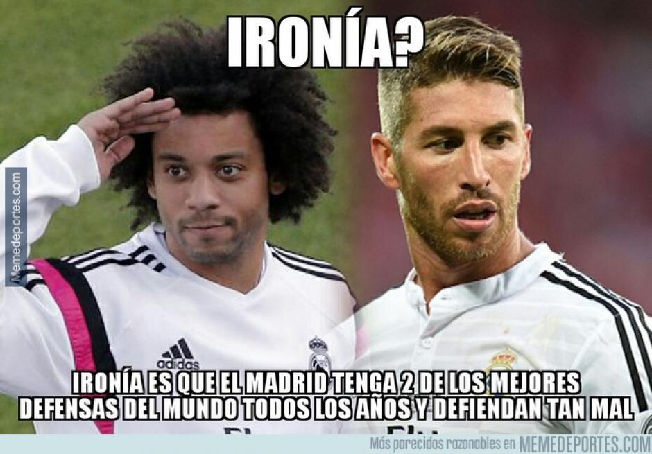Sergio Ramos y Marcelo suelen aparecer en los equipos ideales, pero este sábado dejaron mucho que desear. (Foto: memedeportes.com)