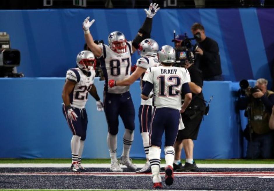 Nueva Inglaterra hace historia en el Super Bowl LII. (Foto: AFP)