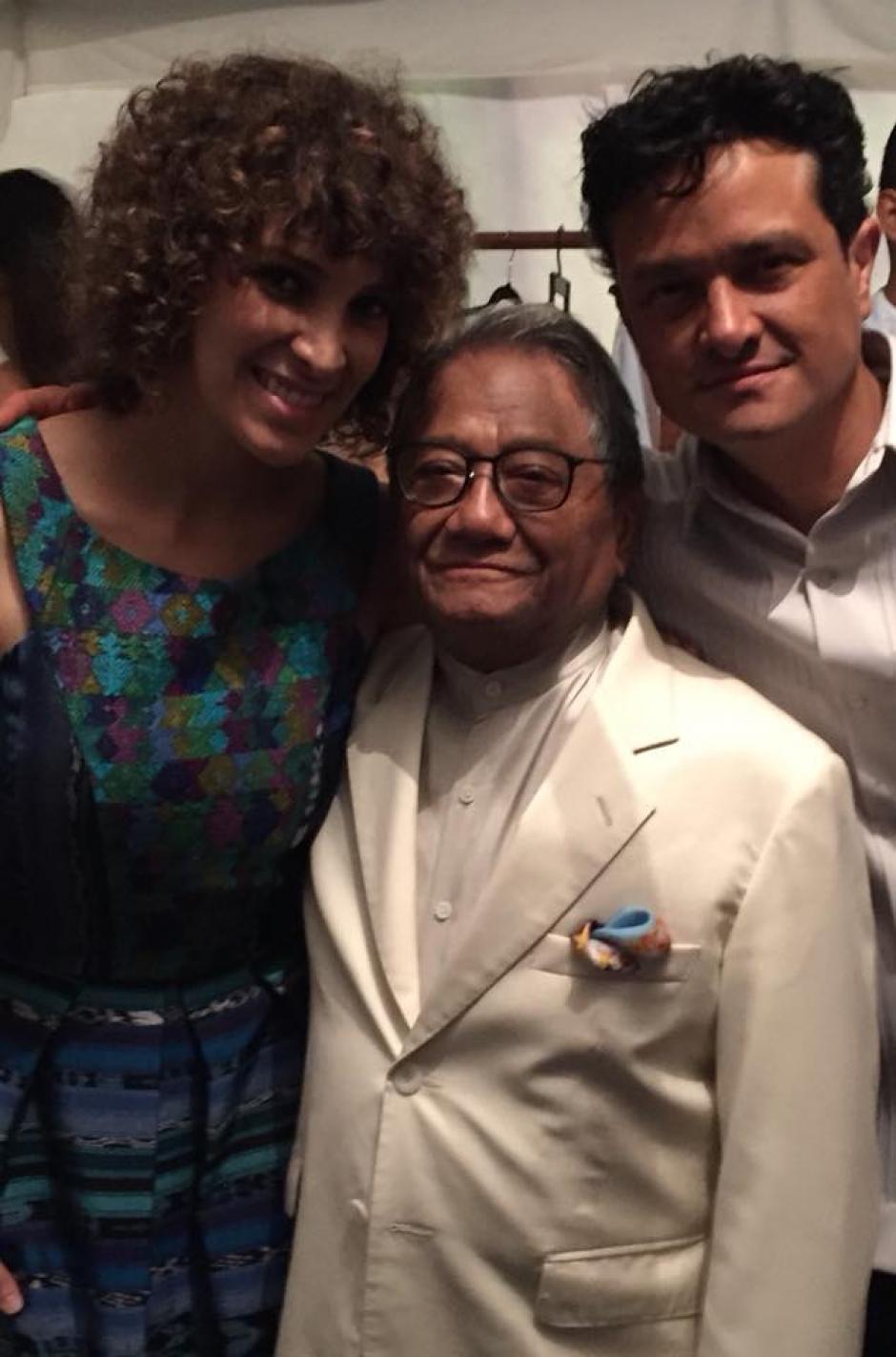 Armando Manzanero y Juan Pablo Manzanero compartieron con la cantautora guatemalteca. (Foto: Gaby Moreno oficial)