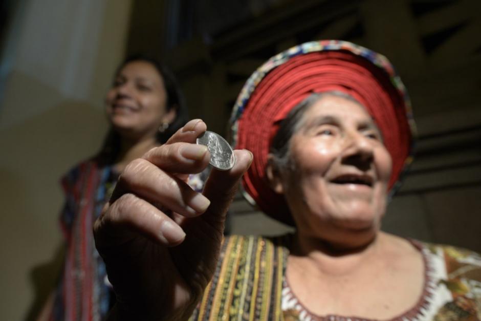 Cuando fue elegida para que su imagen apareciera en la moneda, Concepción Ramírez recibió 2 quetzales. (Foto: Wilder López/Soy502)
