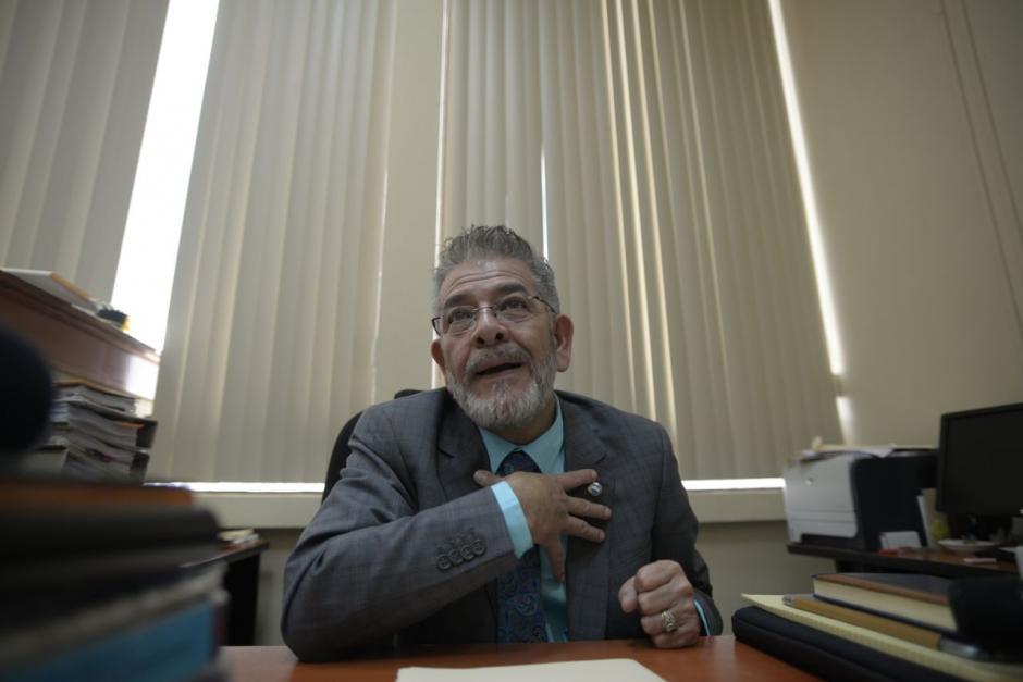 El Juez Miguel Ángel Gálvez pidió la hoja de requisitos para participar en el proceso de elección de Fiscal General. (Foto: Wilder López/Soy502)