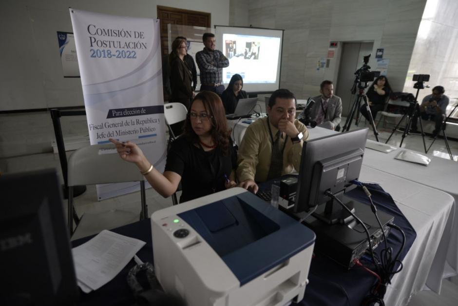 La Comisión de Postulación empezó a recibir solicitudes de aspirantes este 6 de febrero y finalizará en diez días hábiles. (Foto: Wilder López/Soy502)