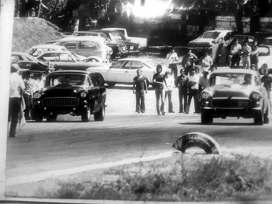 Así lucía el Autódromo Guatemala en 1979 . (Foto: Steve Tope)