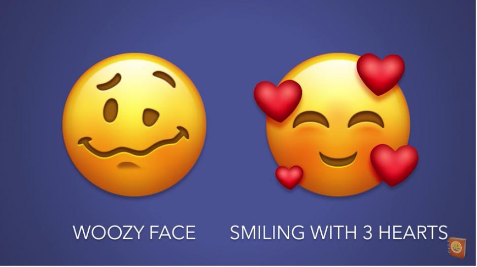 """Los nuevos """"emojis"""" esperan revolucionar las conversaciones. (Foto: captura de video)"""