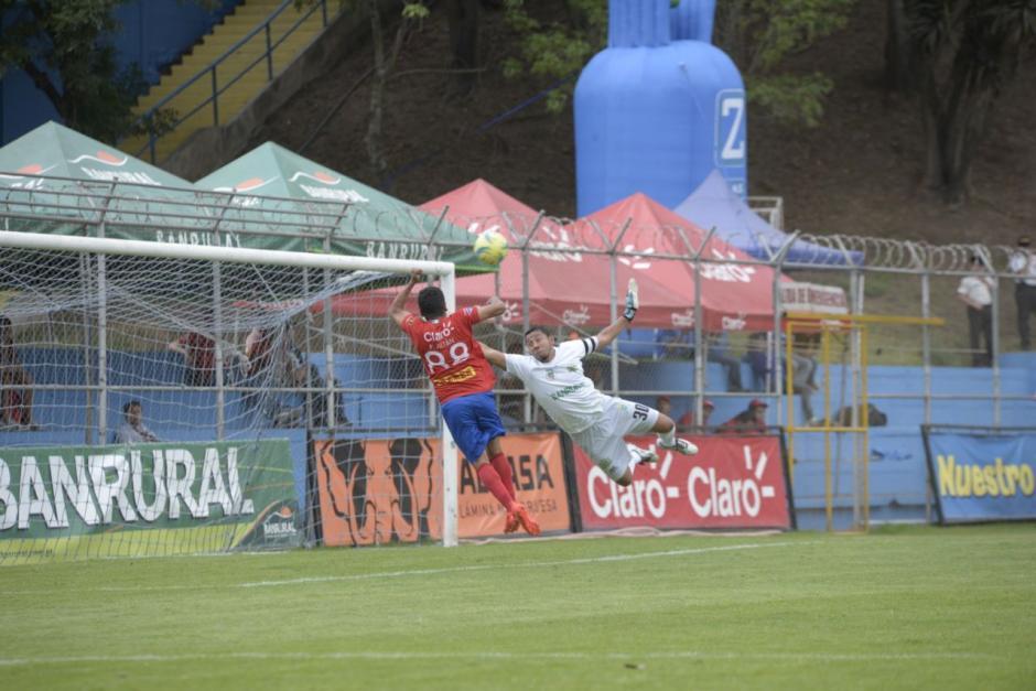 Pedro Altán marcó al minuto 61. (Foto: Wilder López/Soy502)