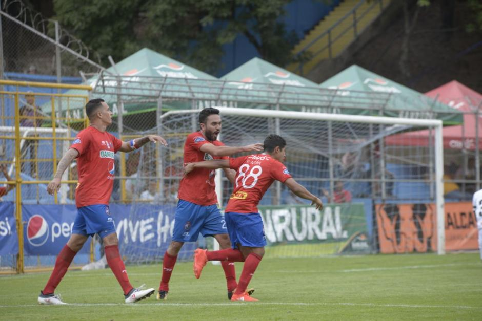Municipal logró un importante triunfo ante Guastatoya. (Foto: Wilder López/Soy502)