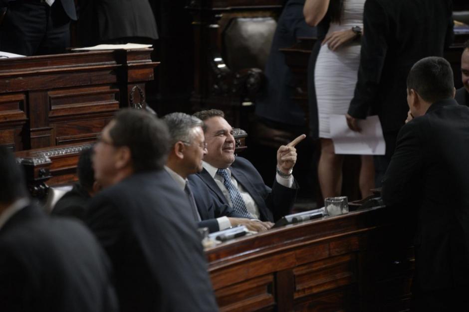 España asegura que la curul le fue asignada desde el 14 de enero de 2016. (Foto: Wilder López/Soy502)
