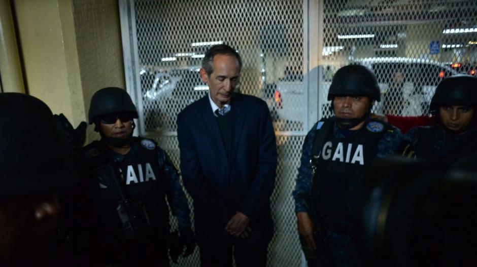 Álvaro Colom fue arrestado por el caso Transurbano. (Foto: Jesús Alfonso/Soy502)