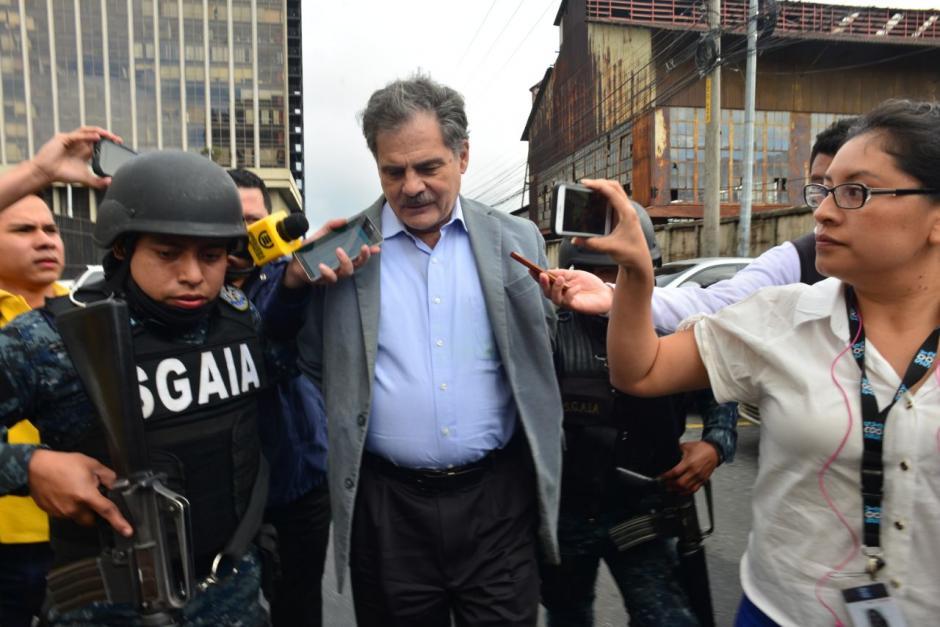 Por el mismo caso arrestaron al exministro de Finanzas, Juan Alberto Fuentes Knight. (Foto: Jesús Alfonso/Soy502)