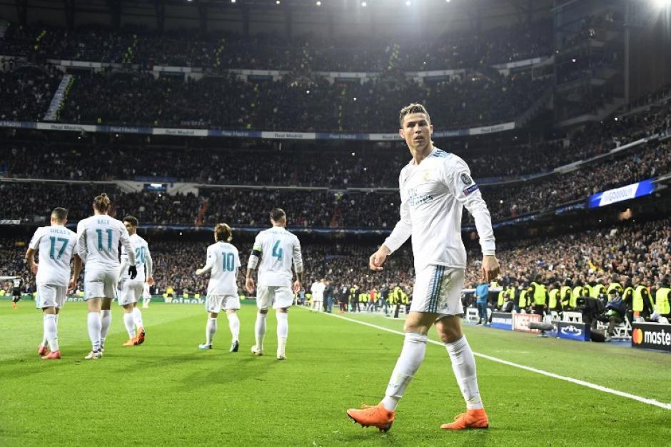 El portugués marcó el empate en el primer tiempo. (Foto: AFP)