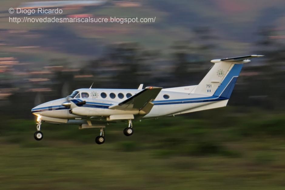 Los repuestos para el avión presidencial cuestan cerca de 1 millón de quetzales. (Foto: Diogo Ricardo)