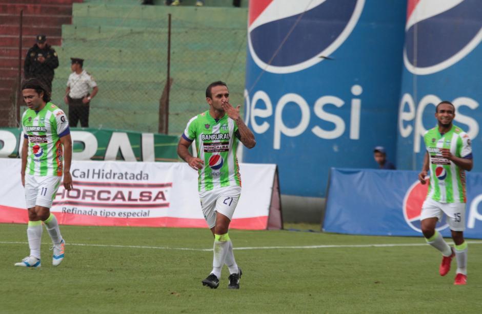 José Manuel Contreras fue el líder de su equipo para vencer a Municipal. (Foto: Luis Barrios/Soy502)