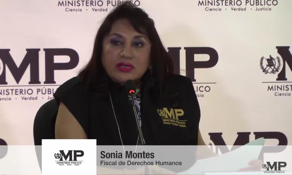 Sonia Montes tiene 20 años de trabajar en el MP. (Foto: captura de pantalla)