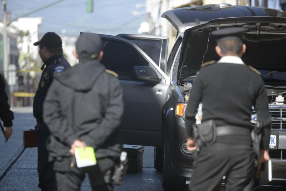 La Fiscalía de Delitos contra la Vida quedó a cargo de la investigación del atentado contra la fiscal Montes. (Foto: Wilder López/Soy502)