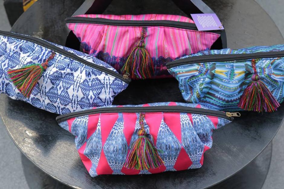 Estampados de textiles nacionales son tendencia. (Foto: Alejandro Balán/Soy502)