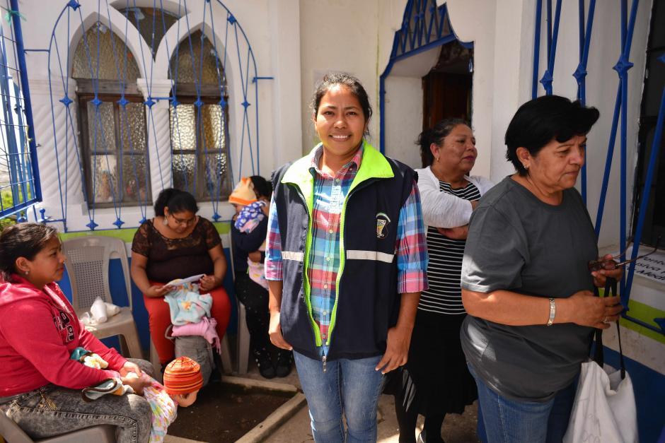 María Esperanza ha sido recibida con los brazos abiertos en Mixco. (Foto: Jesús Alfonso/Soy502)