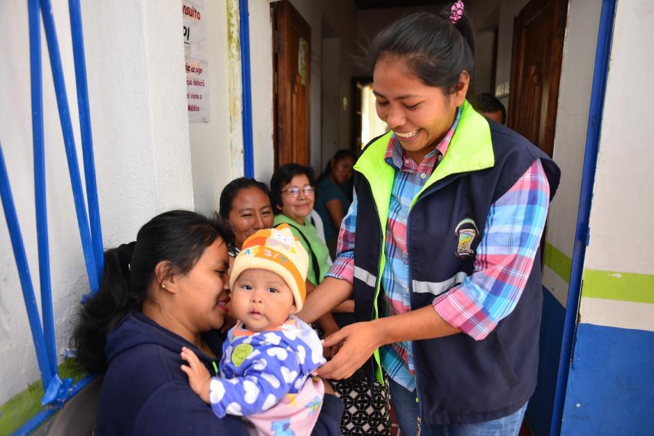 María Esperanza empieza a adaptarse a su nueva vida laboral lejos de su terruño. (Foto: Jesús Alfonso/Soy502)