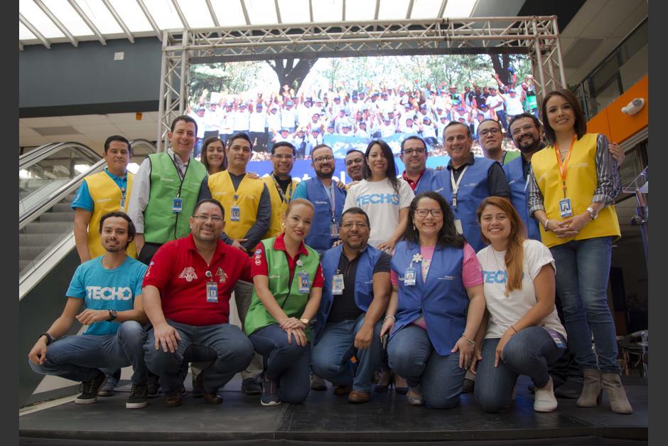 Walmart de México y Centroamérica en alianza con TECHO anuncian la construcción de 50 módulos habitacionales. (Foto: Victor Xiloj/Soy502)