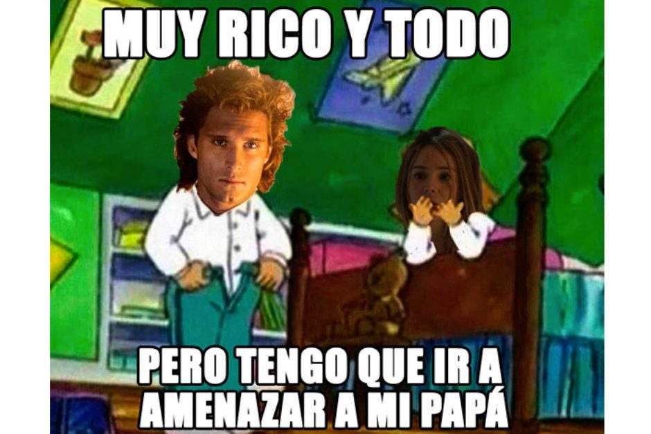 La escena íntima entre Luis Miguel y su novia fue el centro de los memes.