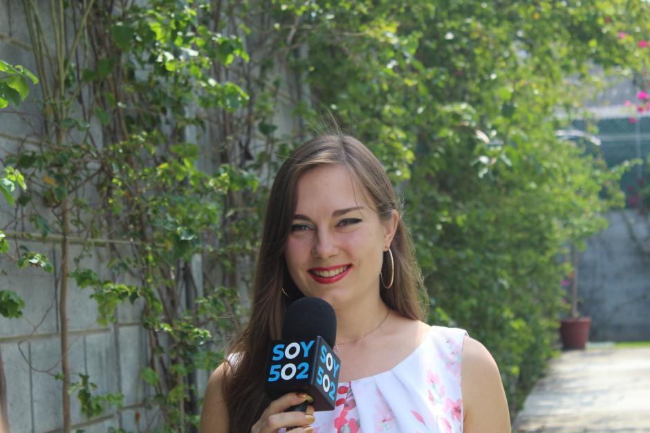 Sveta viajó al Mundial de Rusia no sin antes visitar Soy502. (Foto: Valeria Barillas)