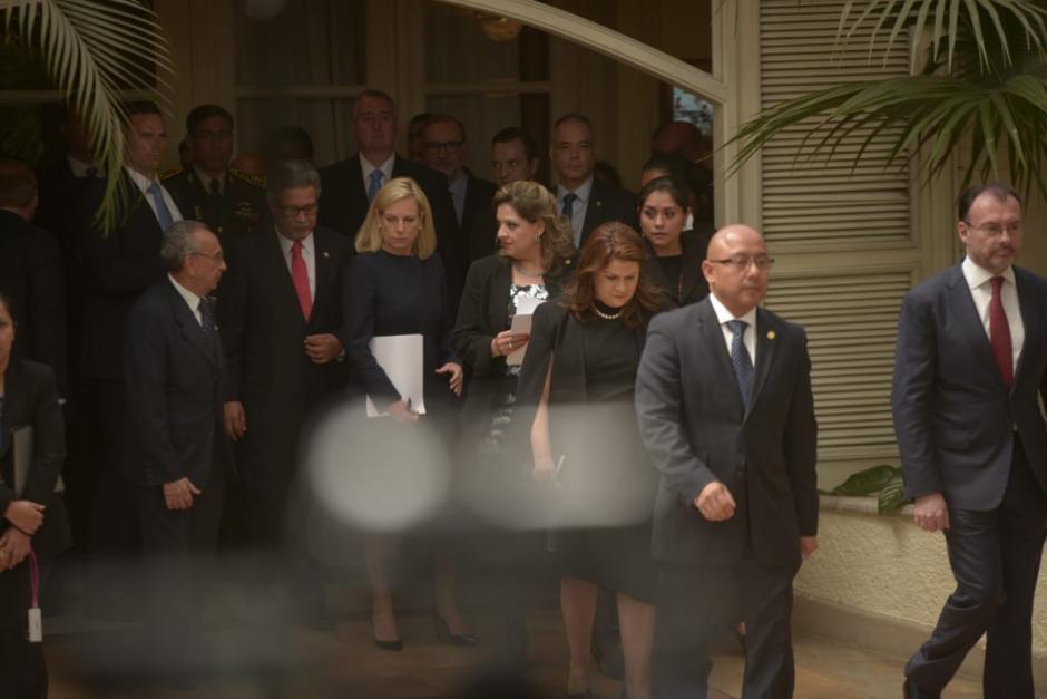 Nielsen regresó a Guatemala tres semanas después de acompañar a Mike Pence. (Foto: Wilder López/Soy502)