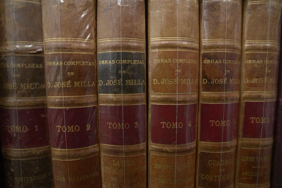 Los coleccionistas de libros antiguos pueden visitar Luz del Saber.  (Foto: Wilder López/Soy502)