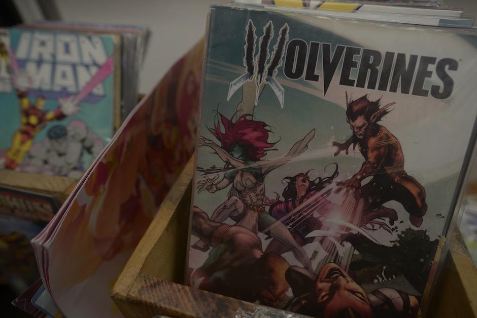 Los personajes más buscados del los comics están aquí.  (Foto: Wilder López/Soy502)