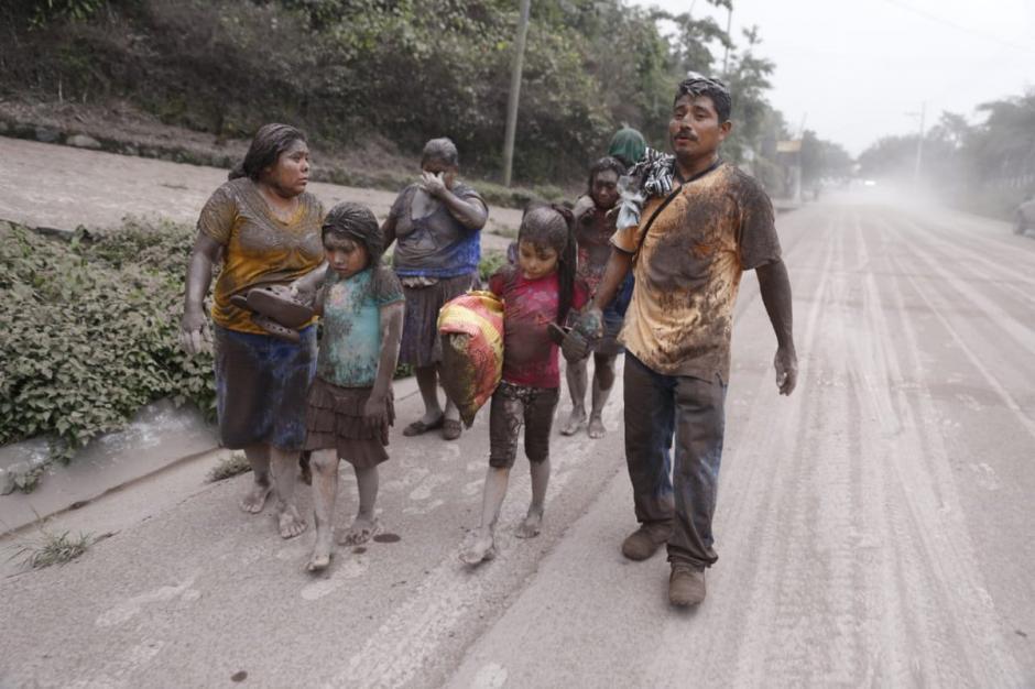 Las autoridades han contabilizado un millón 701 mil afectados por la erupción del volcán de Fuego. (Foto: Diario de Centroamérica)