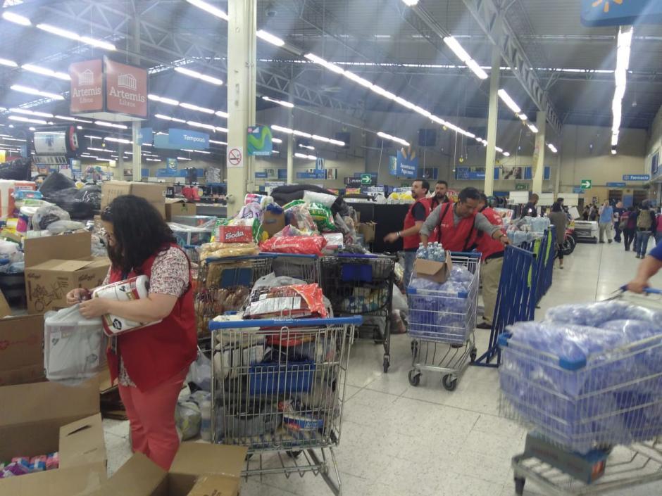 Alrededor de 400 colaboradores de Walmart Guatemala se unieron a la causa. (Foto: cortesía Walmart)