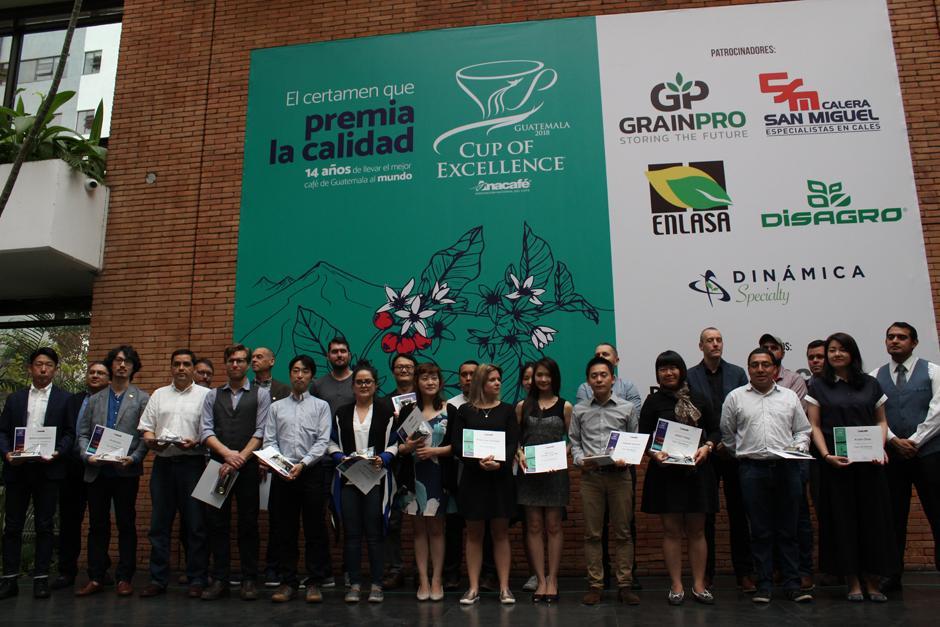 """34 productores de café guatemalteco fueron reconocidos con el galardón """"Cup of Excellence Guatemala 2018"""". (Foto. Josué Ramírez/Soy502)"""