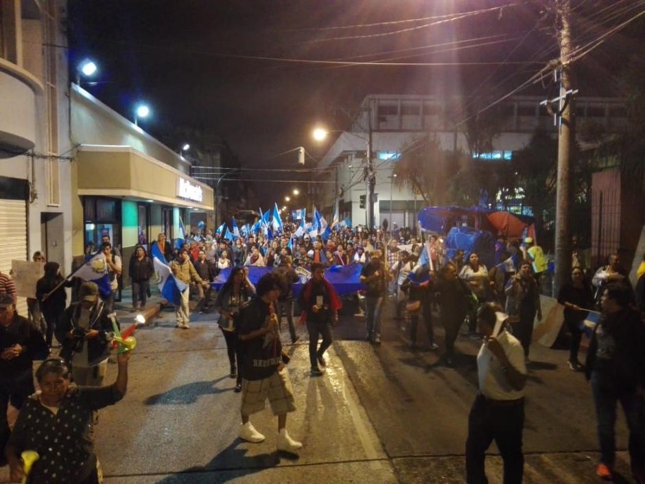 En la marcha participaron personas de todas las edades. (Foto: Gustavo Méndez/ Soy502)
