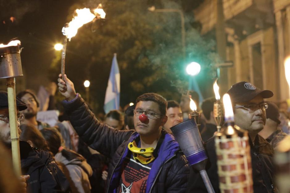 Se prevé que se realice una nueva movilización el próximo martes a eso de las 08:00 horas. (Foto: Alejandro Balán/Soy502)