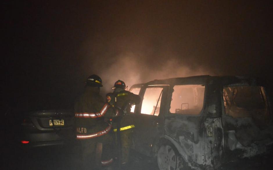 Aún se desconocen las causas del incendio. (Foto: Bomberos Voluntarios)