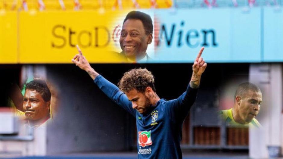 Neymar recibe felicitación de Romario por igual su récord de goles con la  Selección. ( 7eb6b933eb746