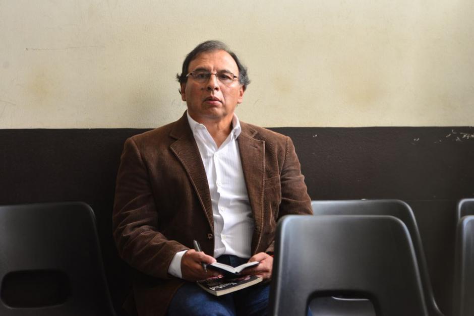 Geovanni Marroquín Navas también pidió medida sustitutiva. (Foto: Jesús Alfonso/Soy502)