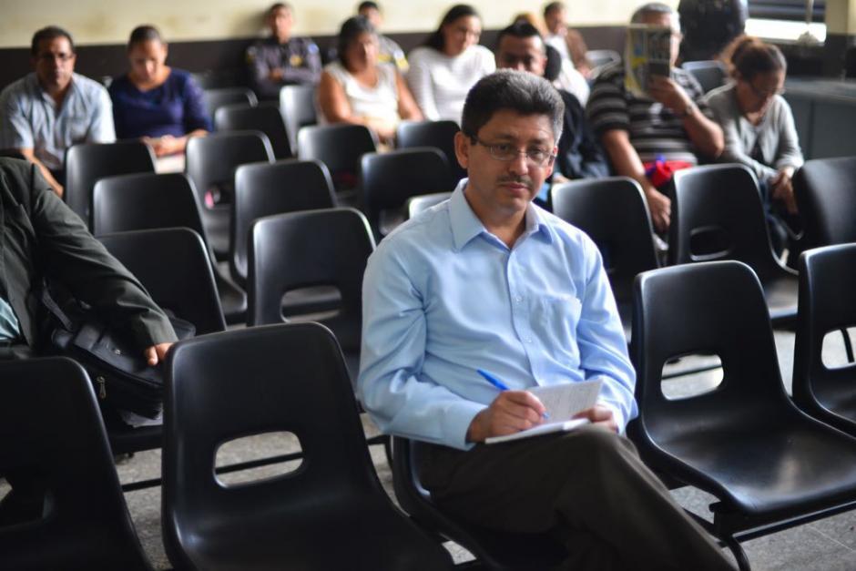 """Omar Franco, exintendente de la SAT, pidió medida por el """"derecho a la salud"""". (Foto: Jesús Alfonso/Soy502)"""