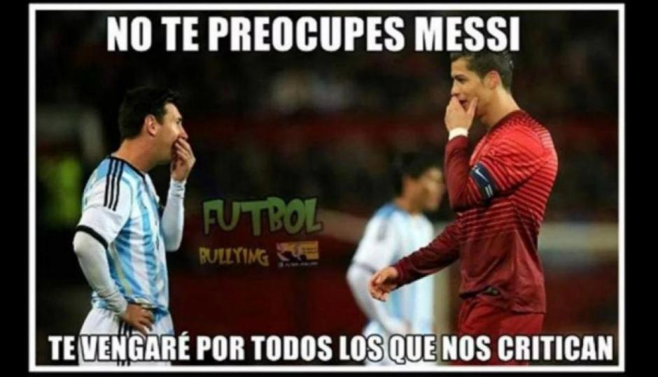 CR7 y Messi no avanzaron a cuartos de final. (Foto: Twitter)