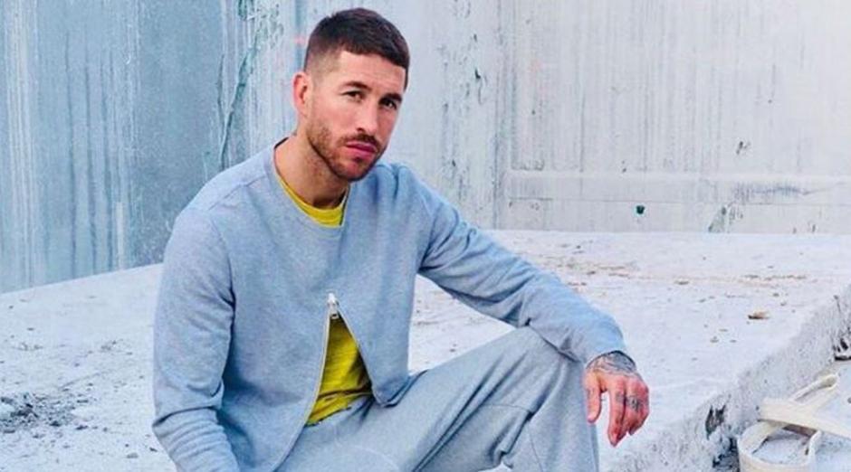 Sergio Ramos desde hace unos días se viste con estilo un retro. (Foto: Instagram)