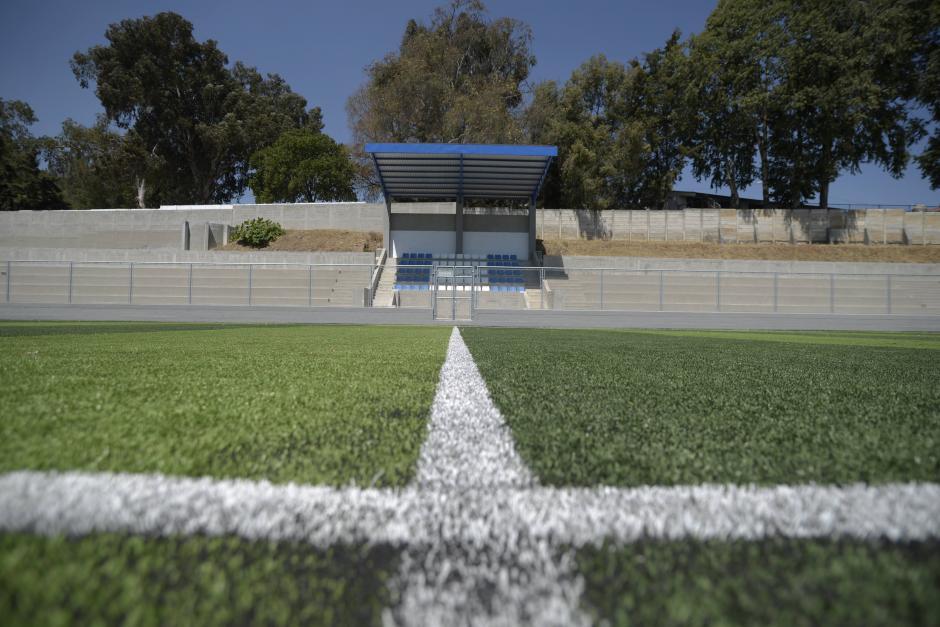 Las autoridades municipales esperan que el Ministerio de Cultura y Deportes entregue pronto la obra. (Foto: Wilder López/Soy502)