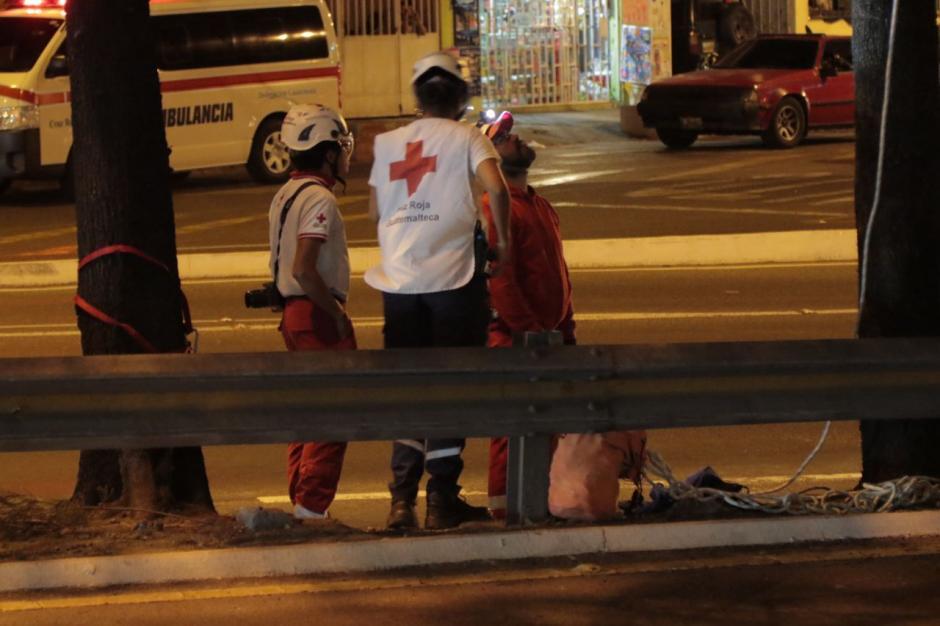 Tres socorristas más estaban atentos ante cualquier inconveniente. (Foto: Alejandro Balán/Soy502)