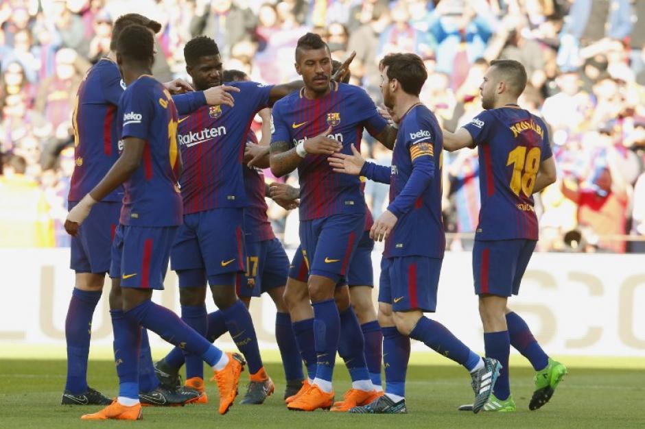 Paco Alcácer abrió el marcador al minuto 8. (Foto: AFP)