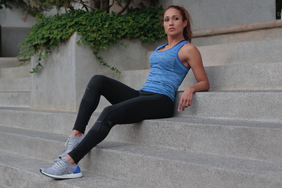 Lisa Álvarez es corredora desde hace 6 años. (Foto: Alejandro Balán/Soy502)