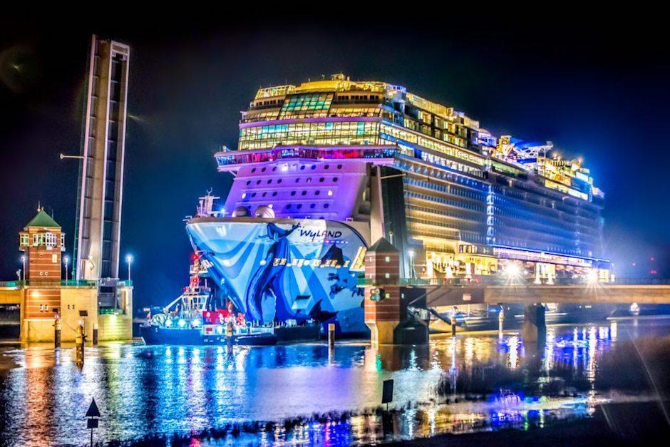 El crucero fue terminado de construir en abril de este año. (Foto: cruiseradio.net)