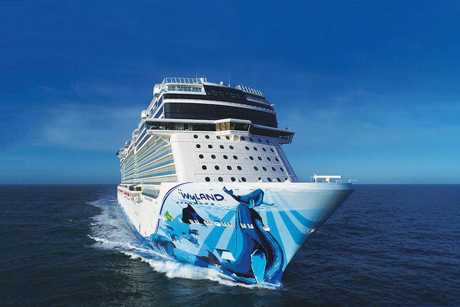 La embarcación atracará este viernes en el Puerto Quetzal, Escuintla. (Foto: ncl.com)