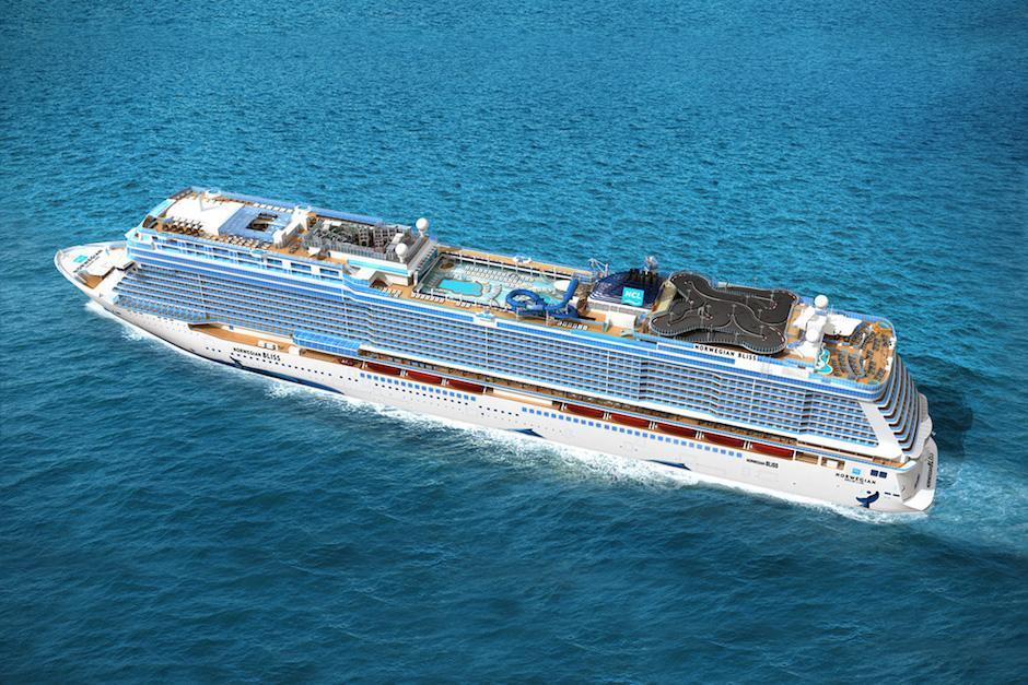 El Norwegian Bliss es considerado uno de los 10 barcos más grandes del mundo. (Foto: hiconsumption.com)